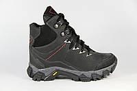Зимняя детская спортивная обувь из натуральной кожи DF52
