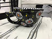 Чашка керамическая 100% ручная работа 0,5 л (57)
