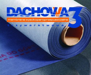 Dachowa 3 (150 g/m2) - гідроізоляційна покрівельна мембарана
