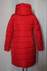 Зимнее женское пальто в расцветках, батал, р.50-60, фото 3
