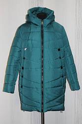 Зимнее женское пальто в расцветках, батал, р.50-60