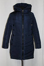 Зимнее женское пальто в расцветках, батал, р.50-60, фото 2