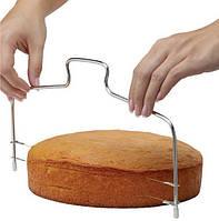 Нож-струна для нарезки бисквитов