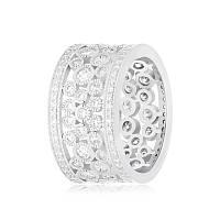 """Серебряное кольцо реплика модели """"Tiffany"""" К2Ф/177"""