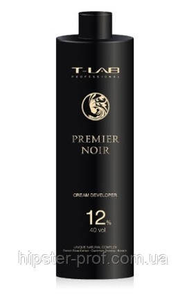 Крем-проявитель T-Lab Professional Premier Noir Cream Developer 12% 150 ml