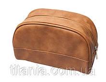 Косметичка коричневая TITANIA 7752