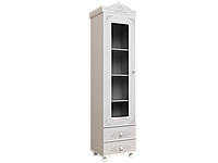 Шкаф-пенал со стеклом Белль  АС-01, фото 1