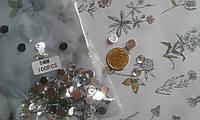 Кабошон - кристалик прозорий 8мм