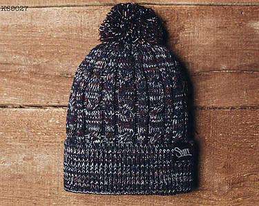 Зимняя шапка Staff с помпоном KS0027