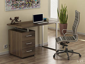 Стол письменный в стиле лофт Лофт L-27 Loft Design, фото 3