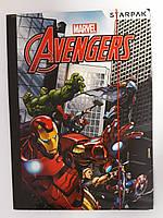 Папка картонная На резинках Marvel 321803 Starpak Польша