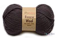 Fibranatura Renew Wooll, №108, коричневый меланж