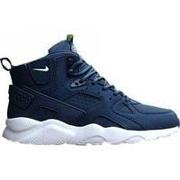 Зимние кроссовки мужские Huarache Winter Shoes Blue