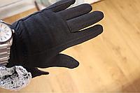 Перчатки стрейчевые с мехом