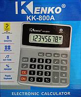 Калькулятор настольный Kenko KK-800A, 8 цифр, фото 1