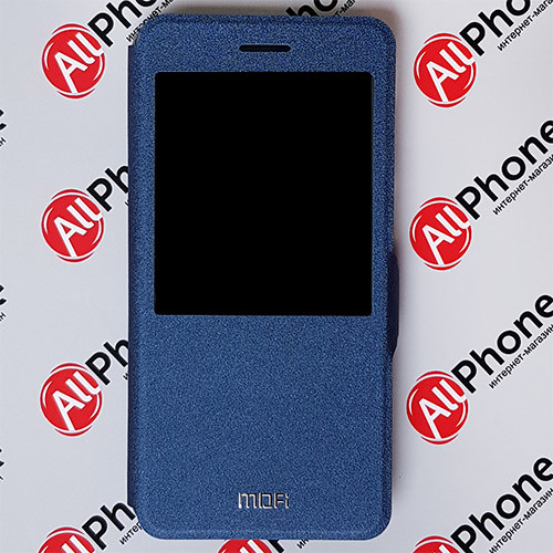 Чехол-книжка MOFI Blue для Xiaomi Redmi Note 4X