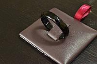 Кольцо из Черного Агата размер 19-19.5