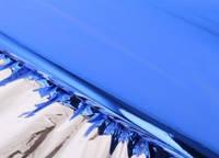 Пленка металлизированная синяя (односторонняя)
