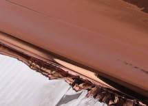 Пленка металлизированная коричневая (односторонняя)