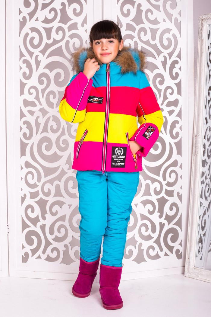 Комплект зимний для девочки (куртка и штаны)