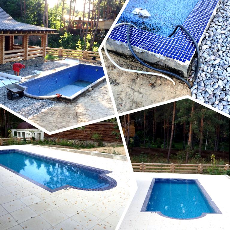 Плавательный внешний бассейн с. Гореничи