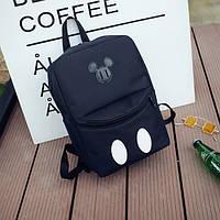 Черный городской рюкзак Микки