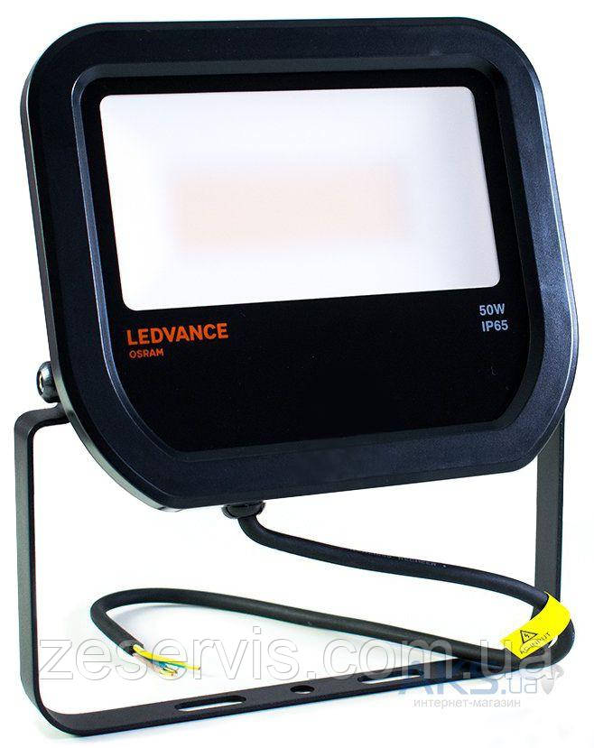 Светодиодный прожектор Ledvance OSRAM 50W 3000K IP65 4058075001107