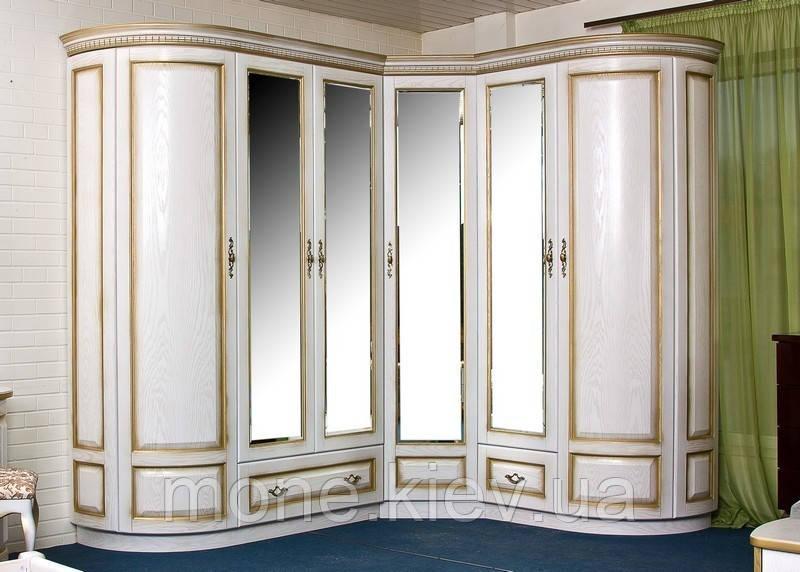 """Шкаф в спальню """"Венера""""угловой"""