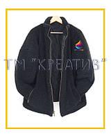 ОПТОМ Флисовые куртки на синтепоне с возможностью нанесения логотипа (заказ от 50 шт.)