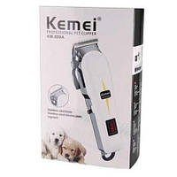 Aккумуляторная сетевая машинка для стрижки животных 2 в 1 Kemei 809A