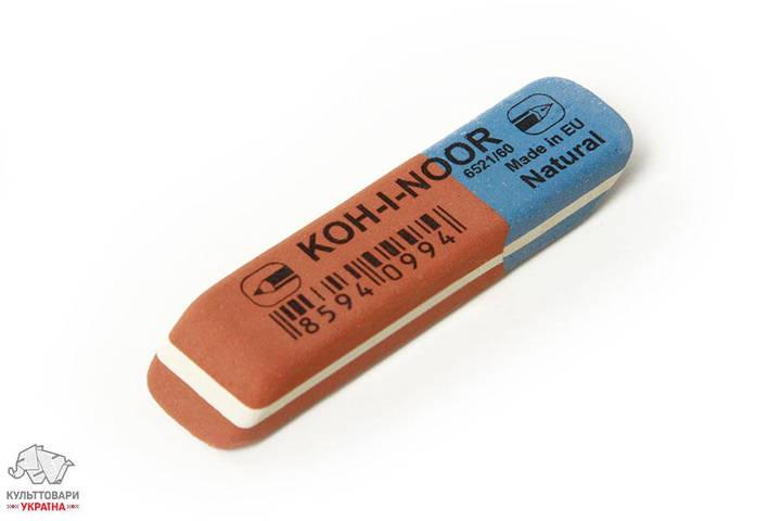 Ластик Koh-I-Noor 6521/60 Blue Star комбинированный красно-синий Арт. 01256