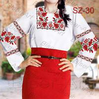 Заготовка для вишивки жіночої сорочки CZ-30 на габардині b81de835aea05