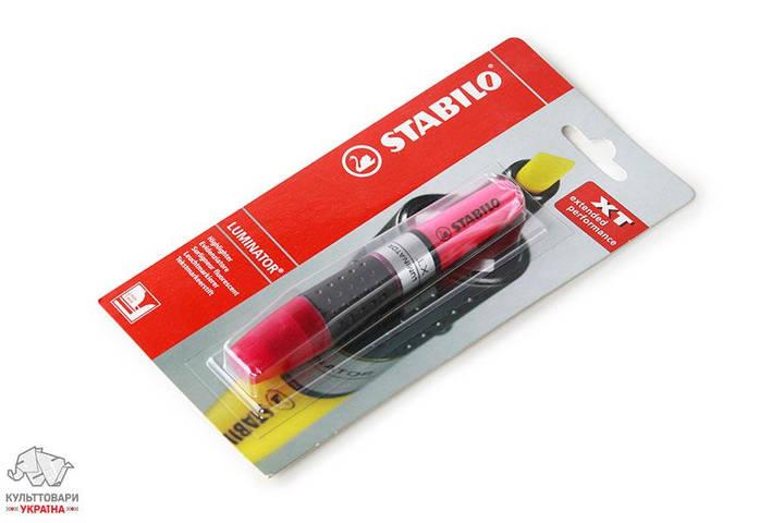 Маркер текстовый Stabilo Luminator розовый Арт.ST-406.