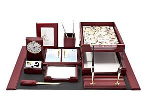 Набор офисный настольный Bestar 10 предметов красное дерево Арт. 0259 XDU