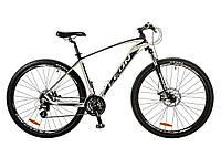 """Велосипед 29"""" Leon TN 80 2017 бело-черный"""