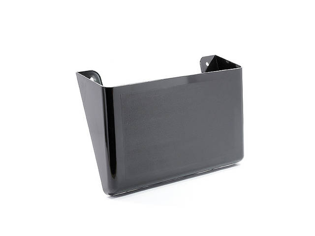 Лоток для бумаг настенный Арника пластик черный Арт. 80703
