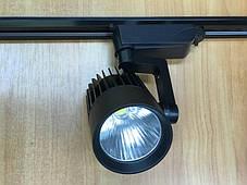 Светодиодный трековый светильник SL-4003 30W 3000К черный Код.58051, фото 3