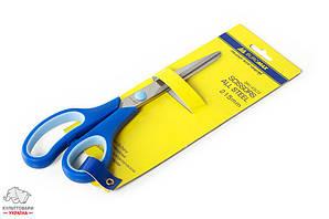 Ножницы BuroMax 21,5 см стальные ручки с резиновыми вставками Арт. BM.4503