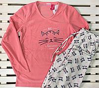 Женская теплая флисовая пижама размер М,L,XL