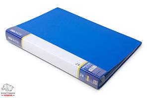 Дисплей-книга 60 файлов Economix А4 пластиковая цвет ассорти Арт. E30606