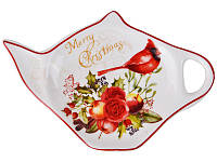 """Набор из 3 подставок под чайный пакетик """"Новогодняя коллекция"""" Lefard 924-158-3"""