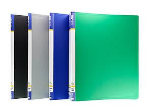 Папка 2 кольца Economix А4 ширина 3,5 см пластик цвет ассорти Арт. E30701