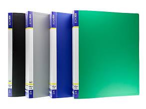Папка 4 кольца Economix А4 ширина 4,0 см пластик цвет ассорти Арт. E30702