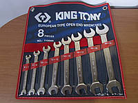 Набор ключей рожковых 8 шт. (6-22 мм)