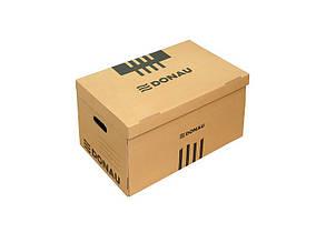 Короб для архивных боксов Donau гофрокартон коричневый Арт. 7666301PL-02