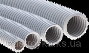 Гофрошланг (фаберпласт серый) d16, 100м/б