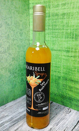 Сироп барный тм «Maribell» Облепиха, фото 2