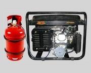 Комплект для работы бензогенераторов на сжиженном газе