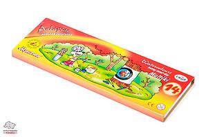 Краска акварельная медовая Гамма 'Мультики' 14 цветов без кисточки Арт. 211050