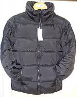 """Подростковая куртка унисекс, европейская зима, ТМ """"H&M"""", размер 164 / 13-14 лет, черная"""